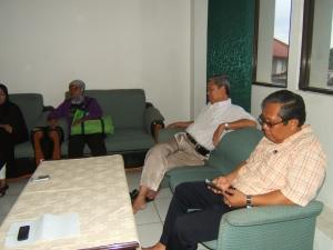 M Syahrir mantan Camat Nongsa tahu betul bagaimana kehidupan msulim minoritas suku laut di pulau kubung