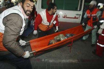 korban kekejaman israel di jalur Gaza