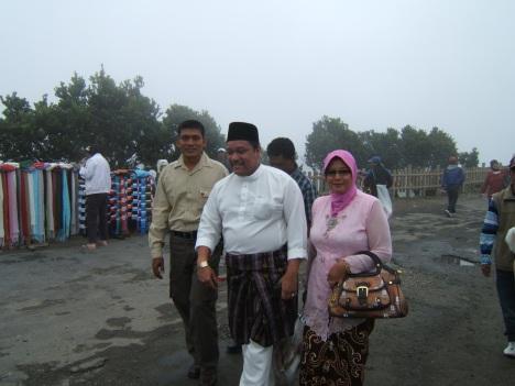 """""""Hang Tuah di puncak Tangkuban Parahu Bandung"""""""