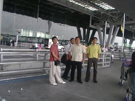 suvarnabhumi air port bangkok thailand
