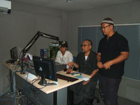 studio baru Hang FM