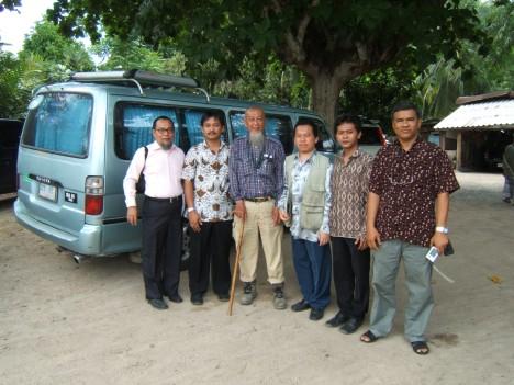 Imbalo (Batam Indonesia), Mahali (PCIM Kuala Lumpur), ustazd Abdul Wahab (Malaysia), Juhardi Harahap (PCIM KL), Ali Amran (PCIM KL) dan Haji Syarif (Malaysia)