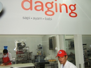 Counter Daging, SAPI, AYAM, BABI
