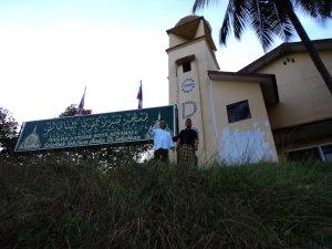 masjid lama kota kinabalu bekas gereja adventis
