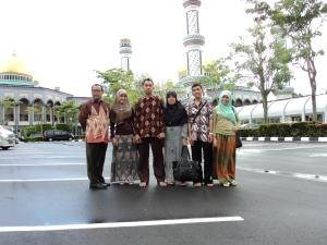 Masjid Kubah Mas Brunei Darussalam