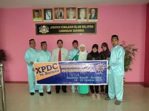 Photo bersama Katua Pengerusi JAKIM Cawangan Sarawak.
