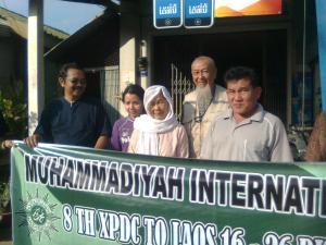 Cik Lie berkerudung Muslimah terakhir di Savanakit Laos