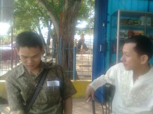 Rudi alias Lee Shin Kuang dan Dedi Azhar alias Leim Kok Seng..