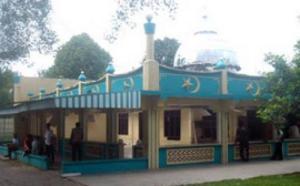 masjid al ikhlas sebelum di bongkar