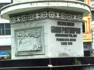 monumen guru patimpus