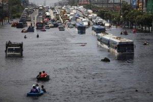 bangkok, berbulan bulan terendam banjir