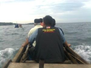 Amal Foundation Of Malaysia, Cawangan Kedah berkunjung ke Batam