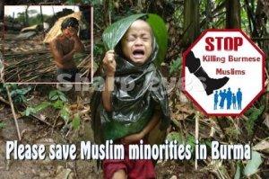 Selamatkan Muslim Rohingya Burma