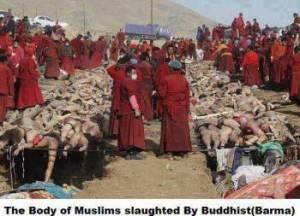 Foto diatas adalah merupakan kejadian yang benar tetapi bukan berlaku di Myanmar sebagaimana yang disebarluaskan dalam internet. Kejadian ini  adalah peristiwa gempa bumi yang terjadi di negara Tibet dan telah menelan banyak korban. Tibetan Community | Tibet Times