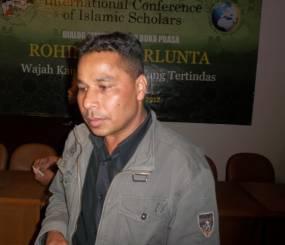 Rafiq Pengungsi Rohingya di Indonesia