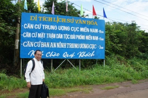salah satu perbatasan Vietnam dengan Kamboja
