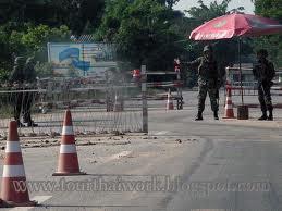 Tentara Siam siaga 24 jam sepanjang tahun di jalan - jalan