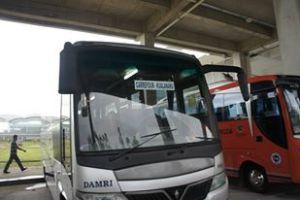 Damri dari Kuala Namu - Medan
