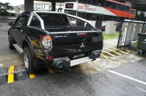 JKR nomor plat Johor
