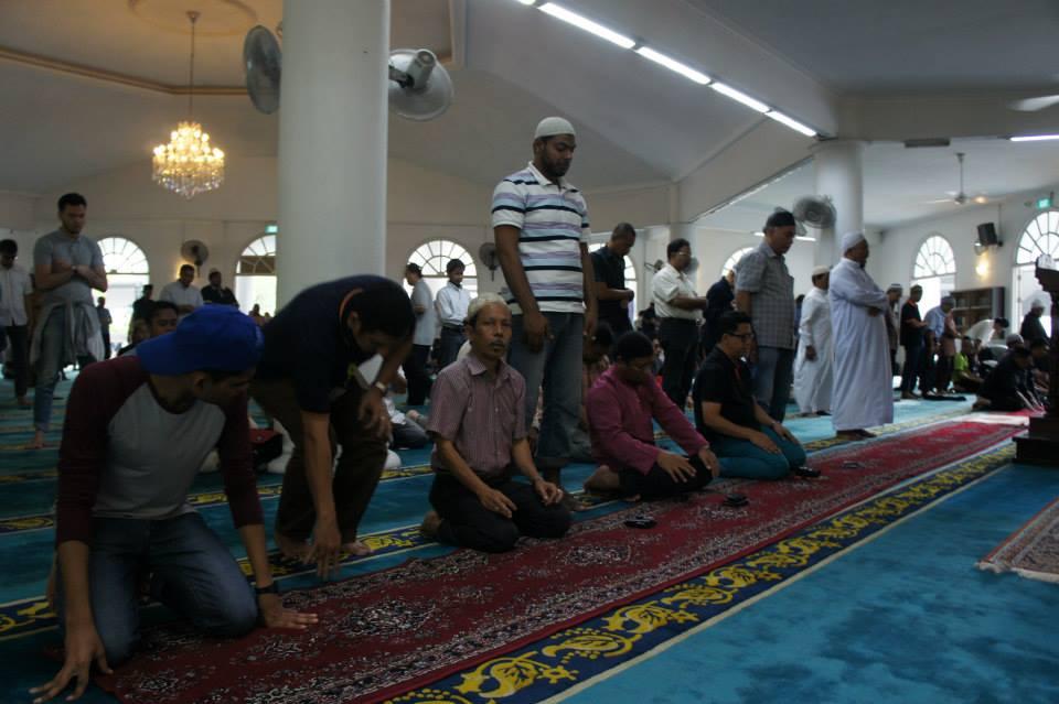Sekelumit Kisah Masjid Temenggong Daeng Ibrahim Johor